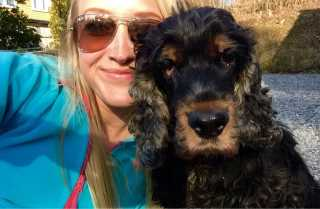 Eline, Pet Boarder in Washington Square Park
